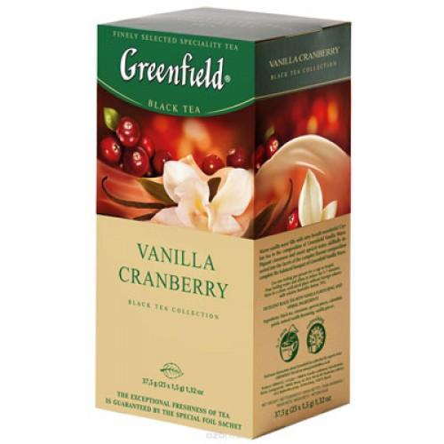 """Чай пакетированный Greenfield """"Vanilla Granberry"""" 1.5 г.х25 пак."""