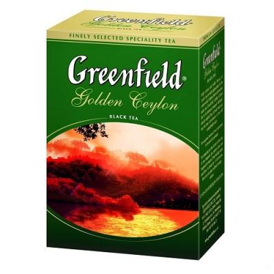 """Чай листовой Greenfield """"Golden Ceylon"""" 100 г."""