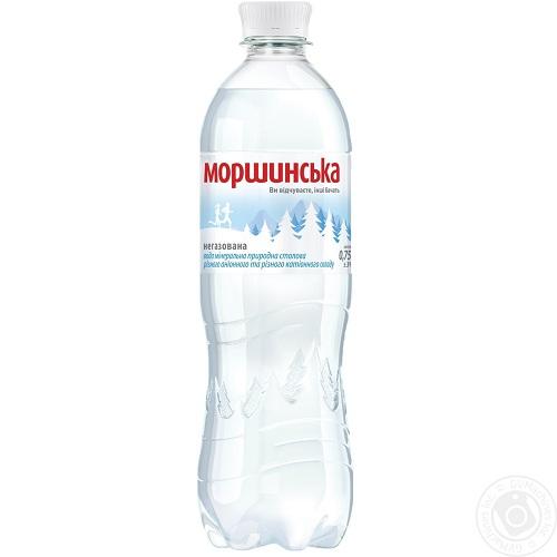 Упаковка минеральной воды  Моршинская ПЭТ н/г 0.75 л.х12 шт.