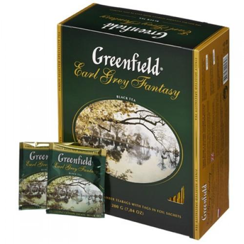 "Чай пакетований Greenfield ""Earl Grey Fantasy"" 1.5 г.х100 пак."