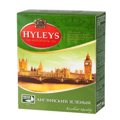 """Чай листовой Hyleys """"Английский зелёный"""" 100 г."""