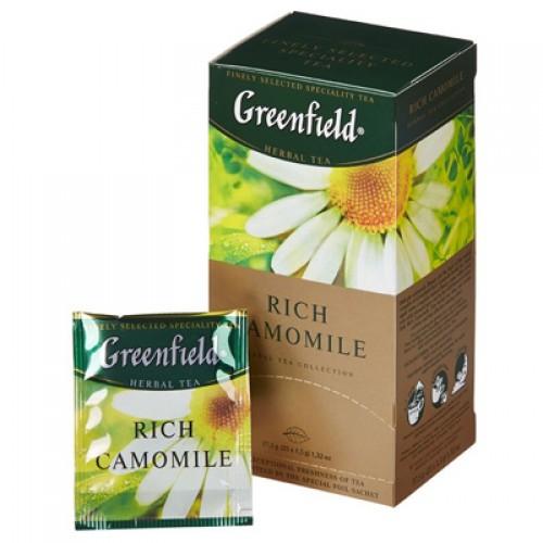 """Чай пакетированный Greenfield """"Rich Camomile"""" 1.5 г..х25 пак."""