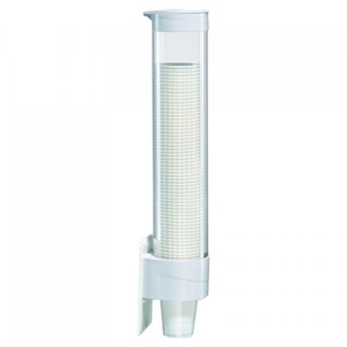 Стаканодержатель навесной Ecotronic (на 50 стак.) белый