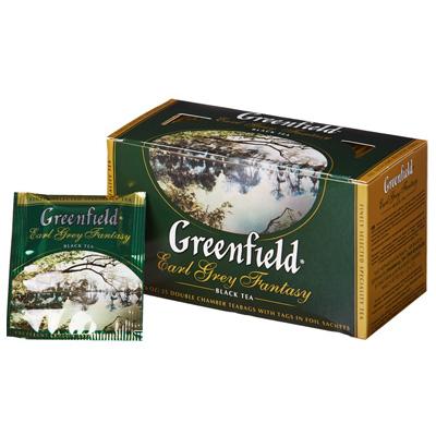 """Чай пакетированный Greenfield """"Earl Grey Fantasy"""" 1.5 г.х25 пак."""
