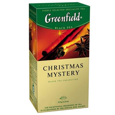 """Чай пакетований Greenfield """"Christmas Mystery"""" 1.5 г.х25 пак."""