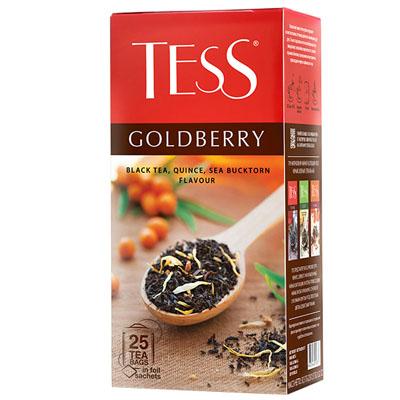 """Чай пакетированный ТESS """"Goldberry"""" 1.5 г.х25 пак."""
