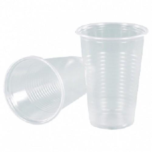 Стаканы пластиковые ArkaPlast 200 мл. 100 шт/пак. прозрачные