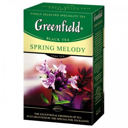 "Чай листовий Greenfield ""Spring Melody"" 100 г."