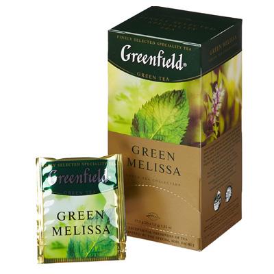"""Чай пакетированный Greenfield Greenfield """"Green Melissa"""" 1.5 г.х25 пак."""