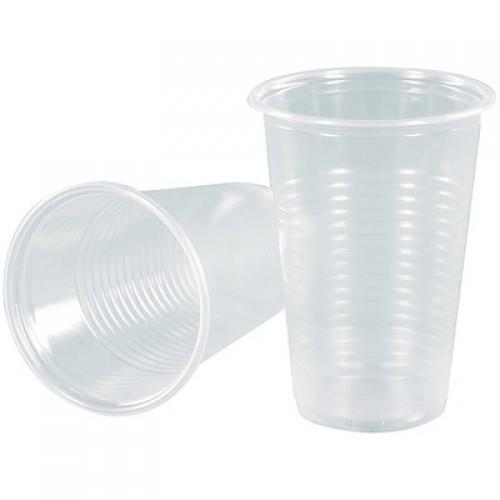 Стаканы пластиковые ArkaPlast 180 мл. 100 шт/пач. прозрачные