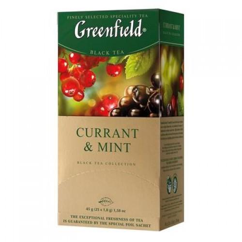 "Чай пакетований Greenfield ""Сurrant & Mint"" 1.8 г.х25 пак."