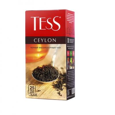 """Чай пакетированный ТESS """"Ceylon"""" 1.5 г.х25 пак."""