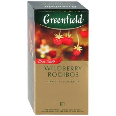 """Чай пакетированный Greenfield """"Wildberry Rooibos"""" 1.5 г.х25 пак."""