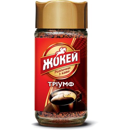 """Кофе растворимый """"Триумф"""" (с/б) 95 гр."""