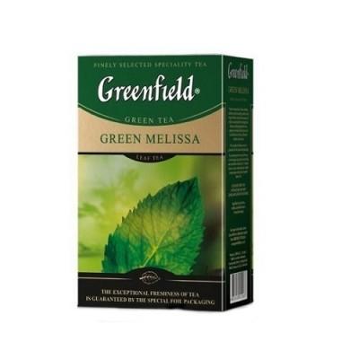 "Чай листовой Greenfield ""Green Melissa"" 85 г."