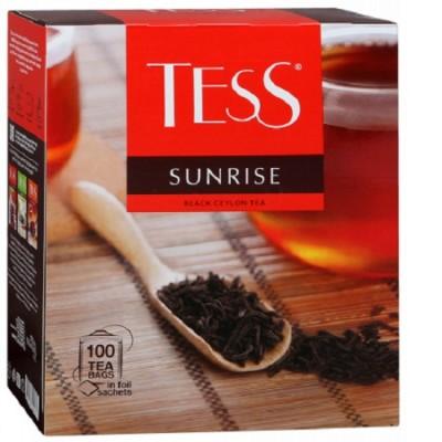 """Чай пакетированный ТESS """"Sunrise"""" 1.5 г.х100 пак."""