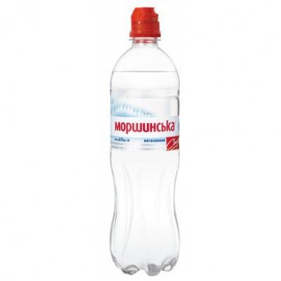 """Упаковка минеральной воды Моршинская """"Спорт"""" ПЭТ н/г 0,75 л.х12 шт."""