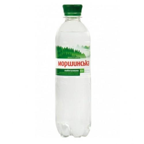 Упаковка мінеральної води Моршинська ПЕТ сл/г 0.5 л.х12 шт.