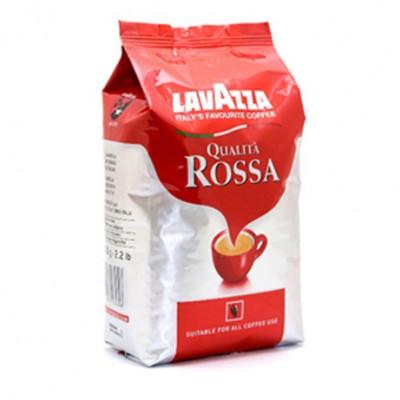 """Кофе зерновой Lavazza """"Qualita Rossa"""" 1 кг."""