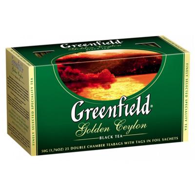 """Чай пакетированный Greenfield """"Golden Ceylon"""" 1.5 г.х25 пак."""
