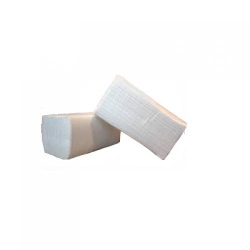 """Полотенца бумажные V-тип Clean Poin """"Lux Medium"""" белые 2 пач.х160 шт."""