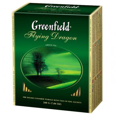 "Чай пакетований Greenfield ""Flying Dragon"" 1.5 г.х100 пак."