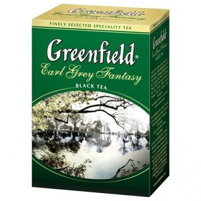 "Чай листовой Greenfield ""Earl Grey Fantasy"" 100 г."