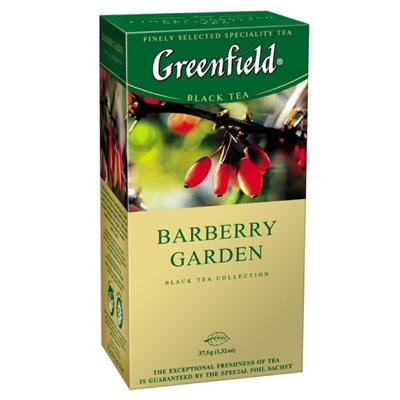 """Чай пакетированный Greenfield """"Barberry Garden"""" 1.5 г.х25 пак."""