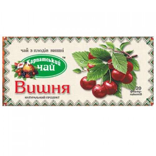 "Чай пакетированный Карпатський ""Вишня"" 2 г.х20 пак."