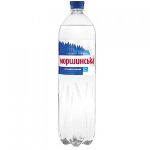 Упаковка минеральной воды Моршинская ПЭТ с/газ 1.5 л.х6 шт.