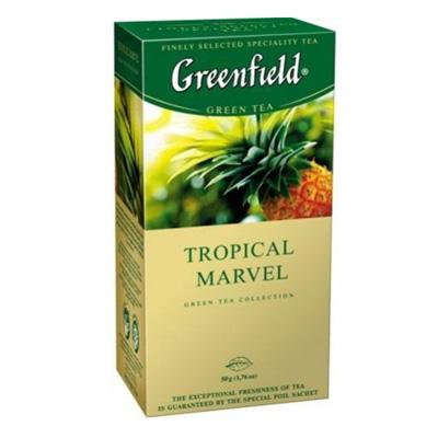 """Чай пакетированный Greenfield """"Tropical Marvel"""" 1.5 г.х25 пак."""