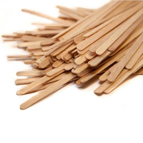 Мешалки деревянные 140 мм.1000 шт/пак.