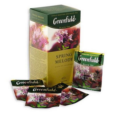 """Чай пакетований Greenfield """"Spring Melody"""" 1.5 г.х25 пак."""