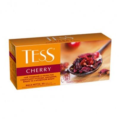 """Чай пакетированный ТESS """"Cherry"""" 1.5 г.х25 пак."""