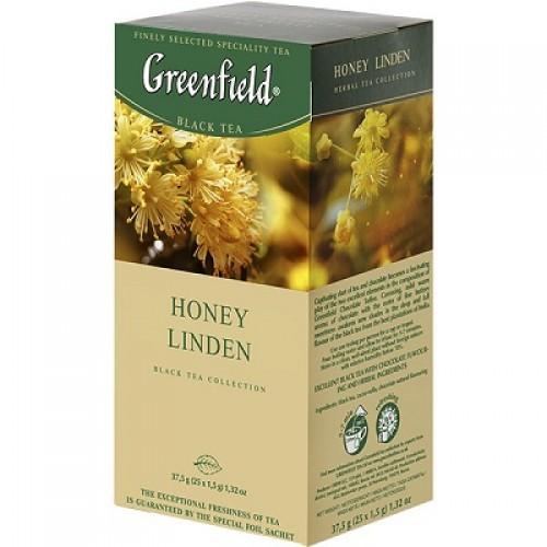 """Чай пакетированный Greenfield """"Honey Linden"""" 1.5 г.х25 пак"""