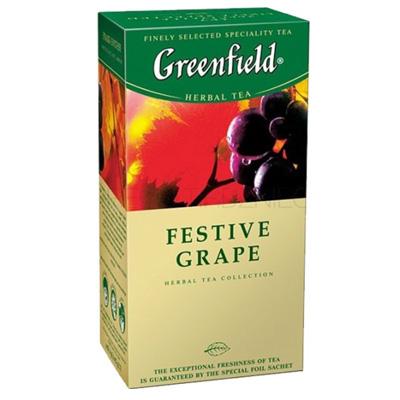 """Чай пакетированный Greenfield """"Festive Grape"""" 1.5 г.х25 пак."""