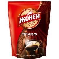 """Кофе растворимый Жокей """"Триумф"""" (зип-пак) 130 гр."""