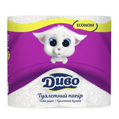 Туалетная бумага Диво Econom 4 рул/пак