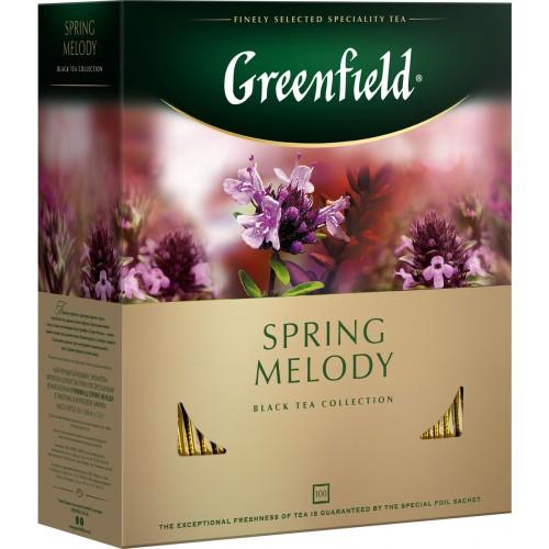 """Чай пакетированный Greenfield """"Spring Melody"""" 1.5 г.х100 пак."""