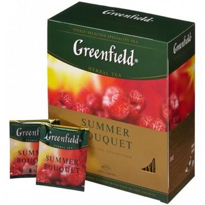 """Чай пакетований Greenfield """"Summer Bouquet"""" 1.5 г.х100 пак."""