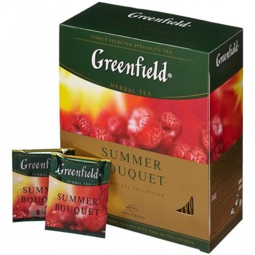 """Чай пакетированный Greenfield """"Summer Bouquet"""" 1.5 г.х100 пак."""