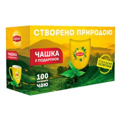 Чай пакетований Lipton Yellow Sunshine 50+50+чашка