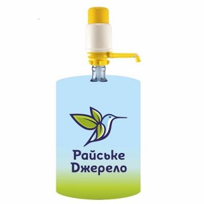 Чохол для бутиля «Райське Джерело» 015 (під помпу)