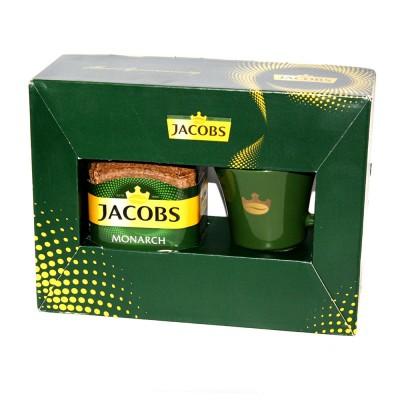 "Кофе растворимый Jacobs ""Monarch"" 190 гр. + чашка"