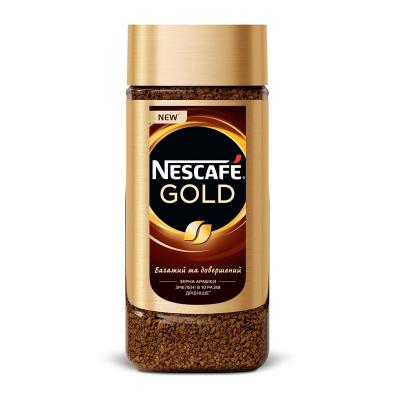 Кофе растворимый Nescafe (Нескафе) Gold у склі 190 г