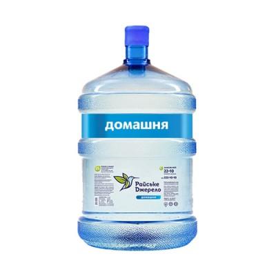 "Вода бутильована Райське Джерело ""Домашня"" 18.9 л."