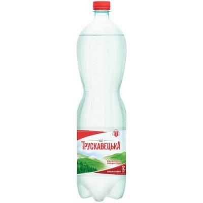 Упаковка минеральной воды Трускавецкая ПЭТ газ. 1,5х6 бут.