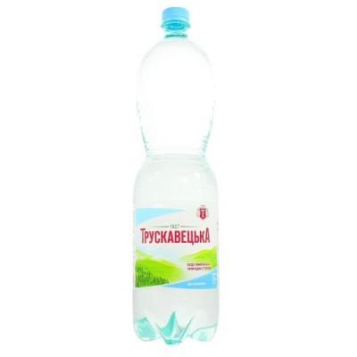 Упаковка минеральной воды Трускавецкая ПЭТ н/газ. 1,5х6 бут.