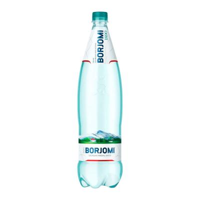 Вода минеральная Borjomi (Боржоми) сильногазированная ПЭТ 1,25 л X 6шт