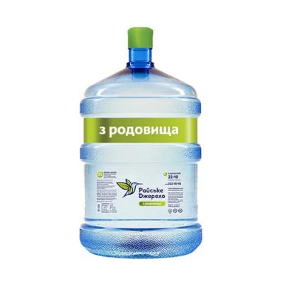 """Вода бутильована Райське Джерело """"З Родовища"""" 18,9 л."""
